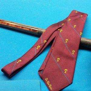 Vintage 1987 Baccmus Press Tie